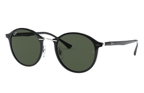 Ray-Ban RB4242 Black with Green Classic lens