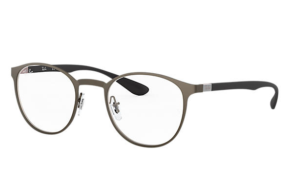 Ray-Ban 0RX6355-RB6355 Gun; Noir OPTICAL