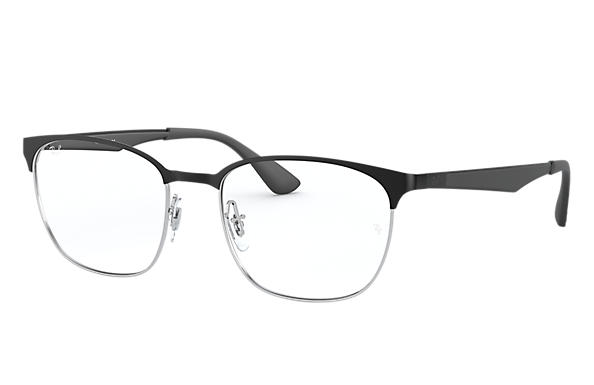 Ray-Ban 0RX6356-RB6356 Negro,Plata; Negro OPTICAL