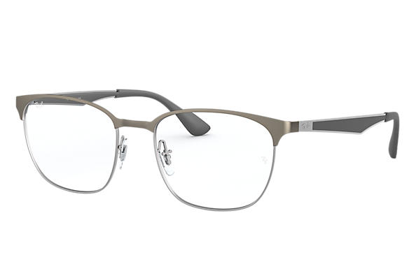 Ray-Ban 0RX6356-RB6356 Gunmetal,Silber; Gunmetal,Grau OPTICAL