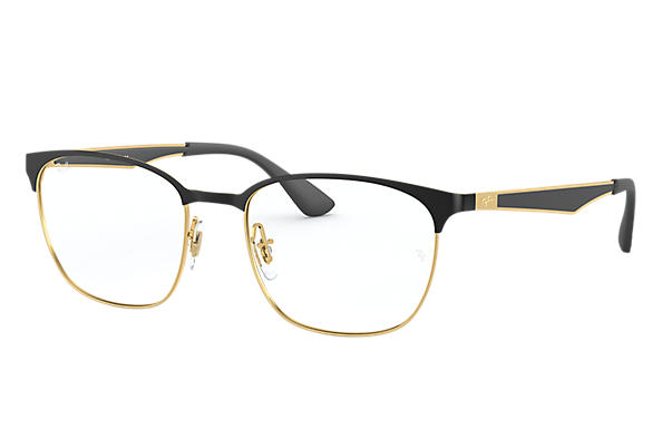 Ray-Ban 0RX6356-RB6356 Zwart,Goud; Goud,Zwart OPTICAL