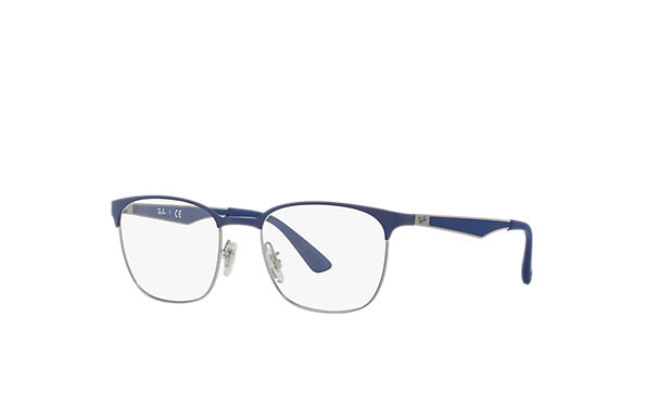 Ray-Ban 0RX6356-RB6356 Blue,Gunmetal; Gunmetal,Blue OPTICAL