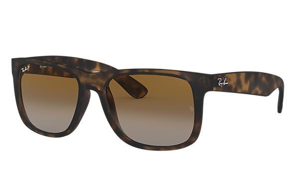 2db43b4ad4b2d Ray-Ban Justin Classic RB4165F Tortoise - Nylon - Brown Polarized ...