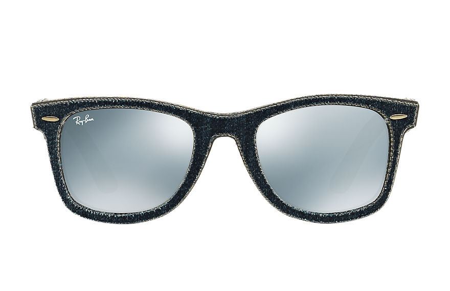 Ray-Ban  sunglasses RB2140F UNISEX 025 original wayfarer denim 데님블루 8053672501506