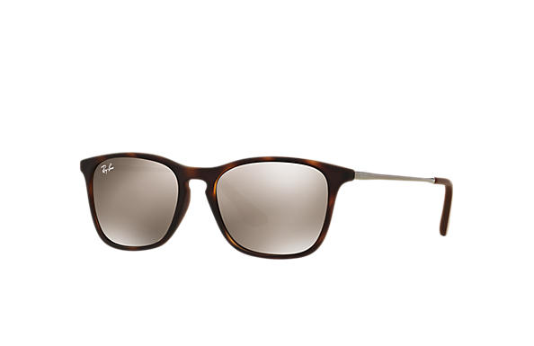 Ray-Ban 0RJ9061S-CHRIS JUNIOR Tortoise; Gunmetal SUN