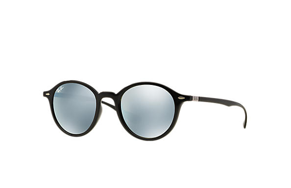 db0468e528 Ray-Ban Round Liteforce RB4237F Black - Liteforce - Silver Lenses ...