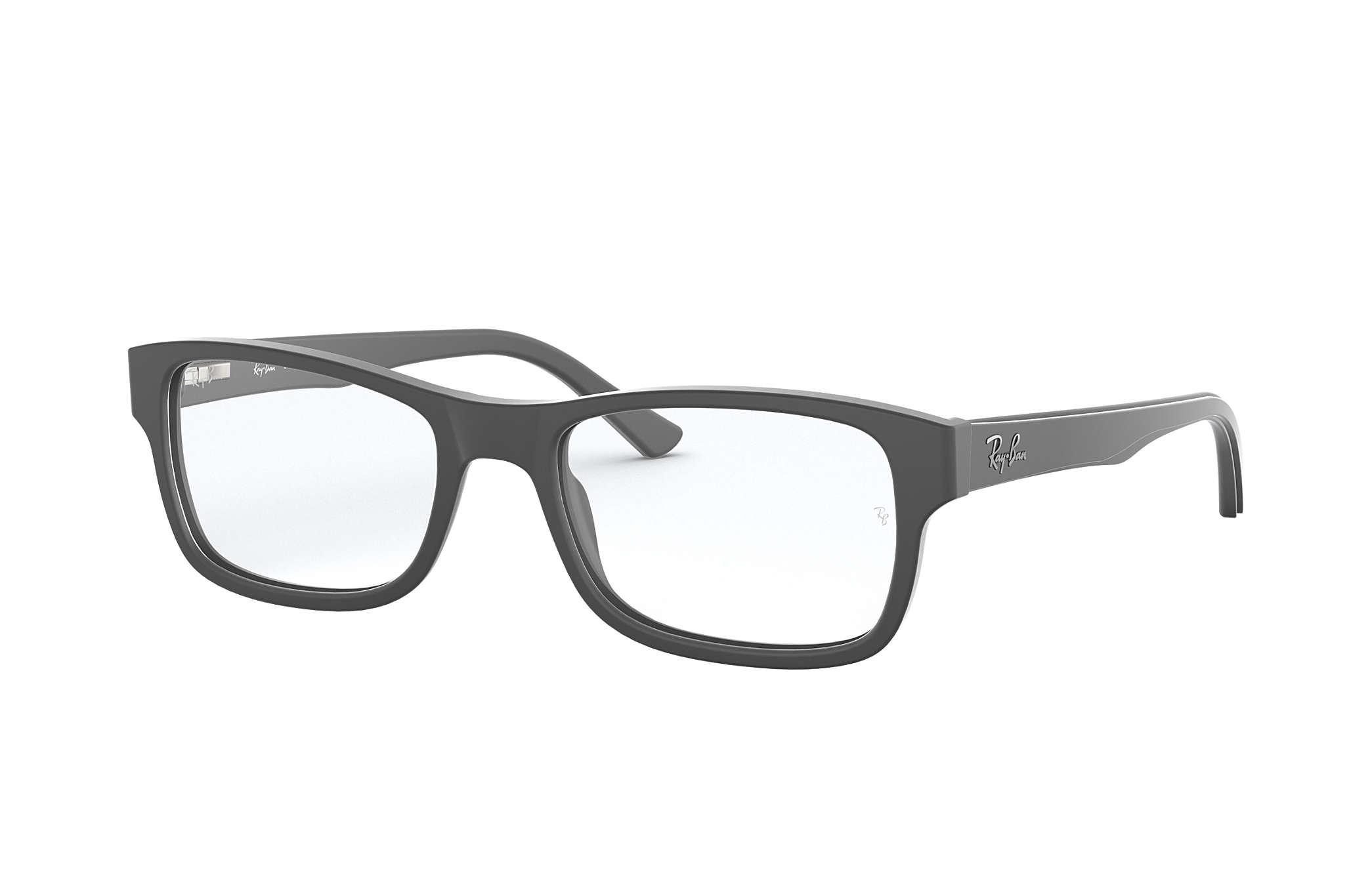 a5b626bde4 Ray-Ban prescription glasses RB5268 Grey - Acetate - 0RX5268558252 ...