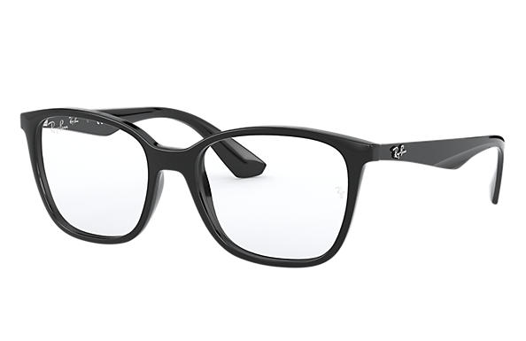 72c49fd6a3 Ray-Ban prescription glasses RB7066 Black - Nylon - 0RX7066200052 ...