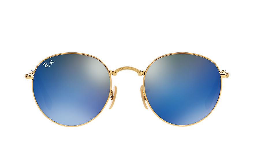 Ray-Ban  sunglasses RB3532 UNISEX 001 round metal folding gold 8053672503685