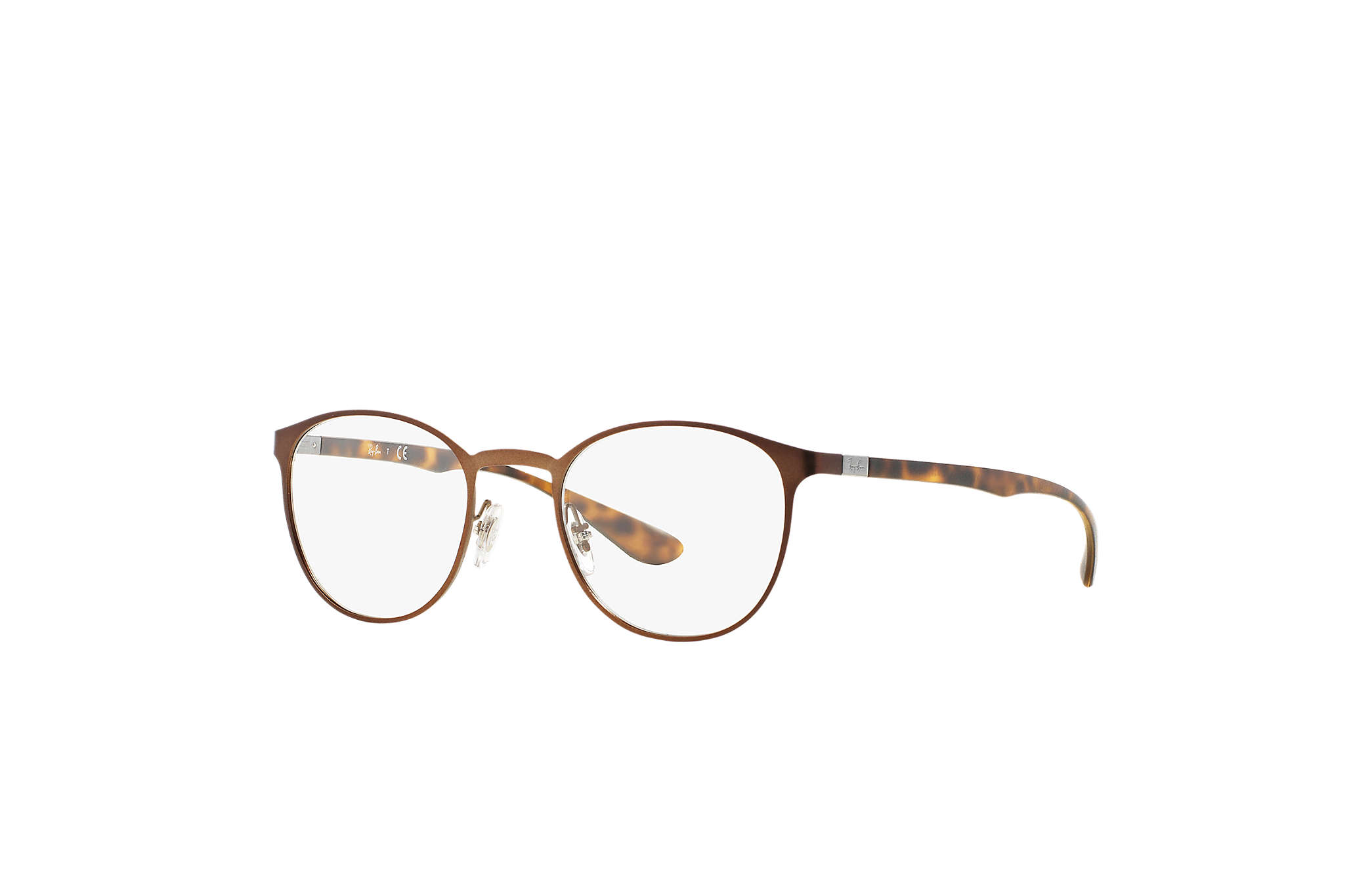 d841f65374 Ray-Ban prescription glasses RB6355 Brown - Liteforce ...