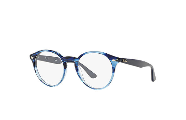 bf1cac50d3 Ray-Ban prescription glasses RB2180V Blue - Acetate - 0RX2180V557249 ...