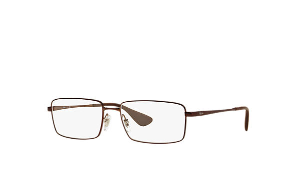 Ray-Ban 0RX6337M-RB6337M Brown OPTICAL