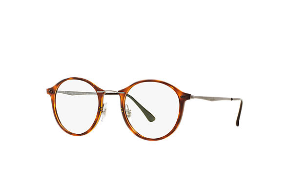 e514650ae8f Ray-Ban prescription glasses RB7073 Tortoise - LightRay Titanium ...
