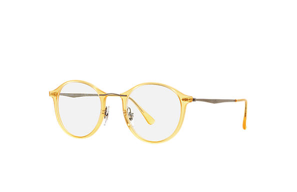 Ray-Ban 0RX7073-RB7073 Yellow; Silver OPTICAL