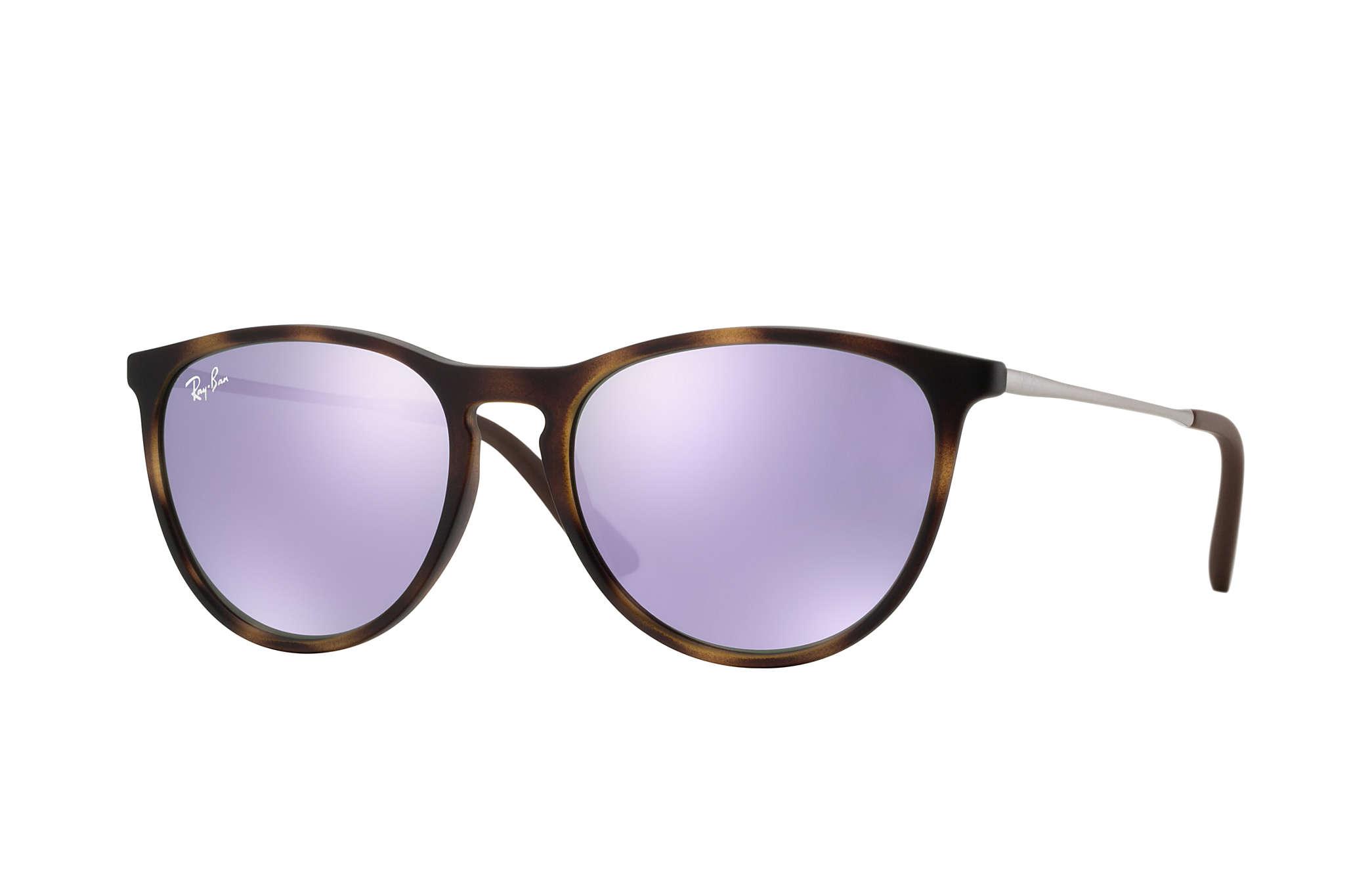aef3f58024405 Ray-Ban Izzy RB9060S Tortoise - Nylon - Lilac Lenses ...