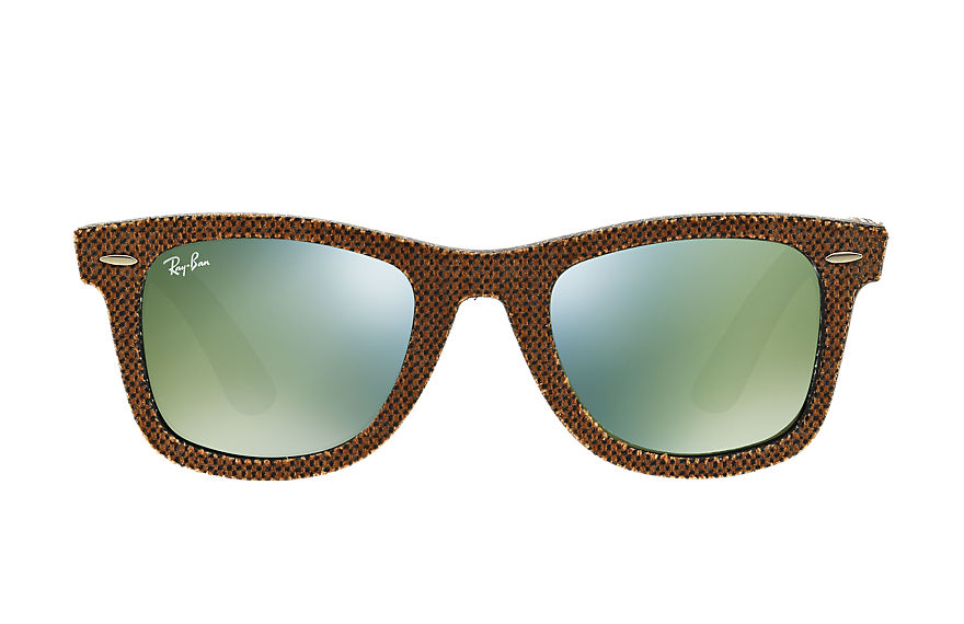 Ray-Ban  lunettes de soleil RB2140 UNISEX 032 original wayfarer denim brown denim 8053672508178