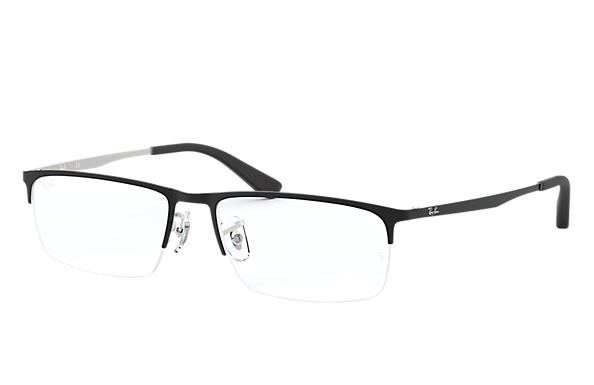Ray-Ban 0RX6349D-RB6349D Black,Silver OPTICAL