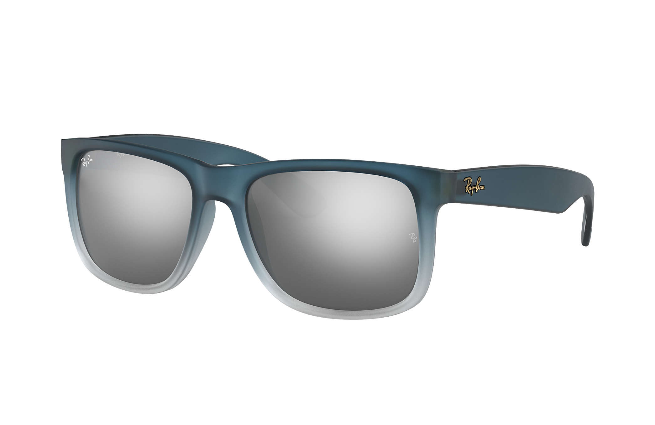 Ray-Ban JUSTIN  Collection Blue with Silver Gradient Mirror lens 34bcf5a4e9