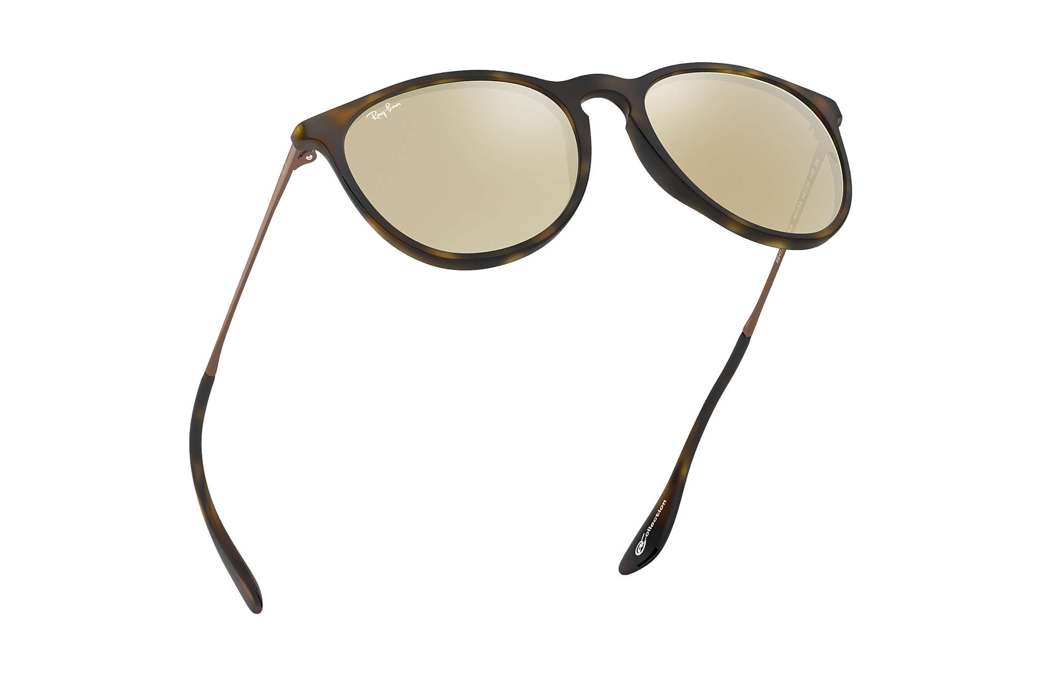 dfb4881fff Ray-Ban Erika  collection RB4171 Tortoise - Nylon - Gold Lenses ...