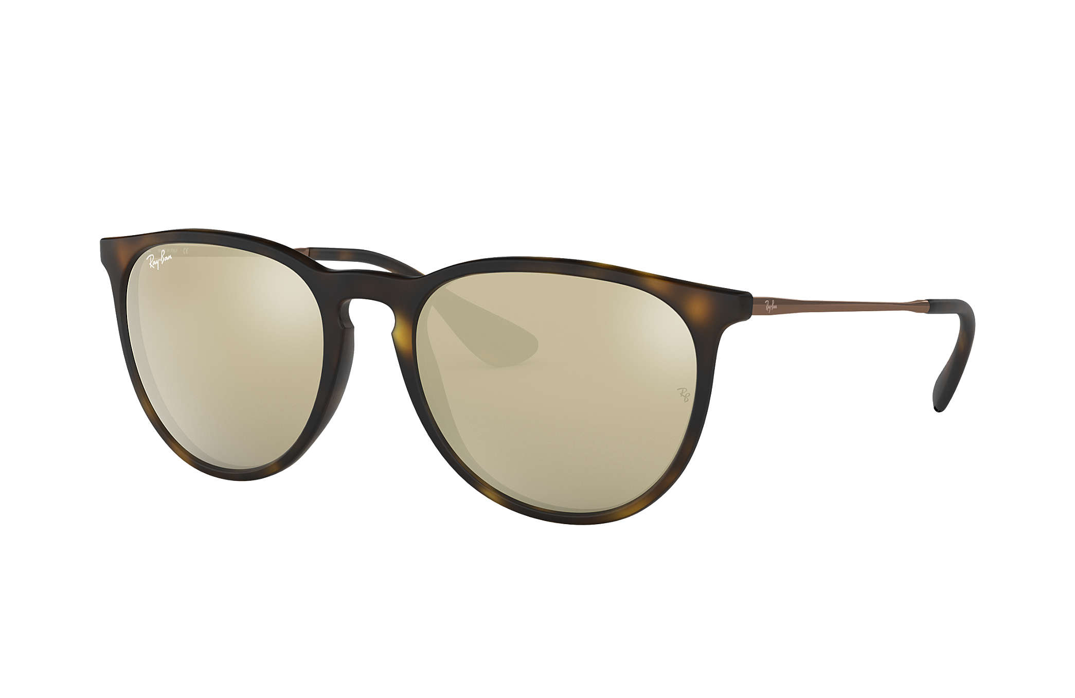 985e8b823b1 Ray-Ban Erika  collection RB4171 Tortoise - Nylon - Gold Lenses ...