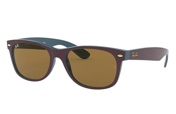 Ray-Ban 0RB2132-NEW WAYFARER @Collection Violet,Vert SUN