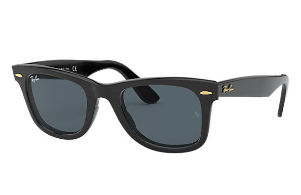 Ray-Ban Original Wayfarer @Collection Black with Blue/Grey Classic lens