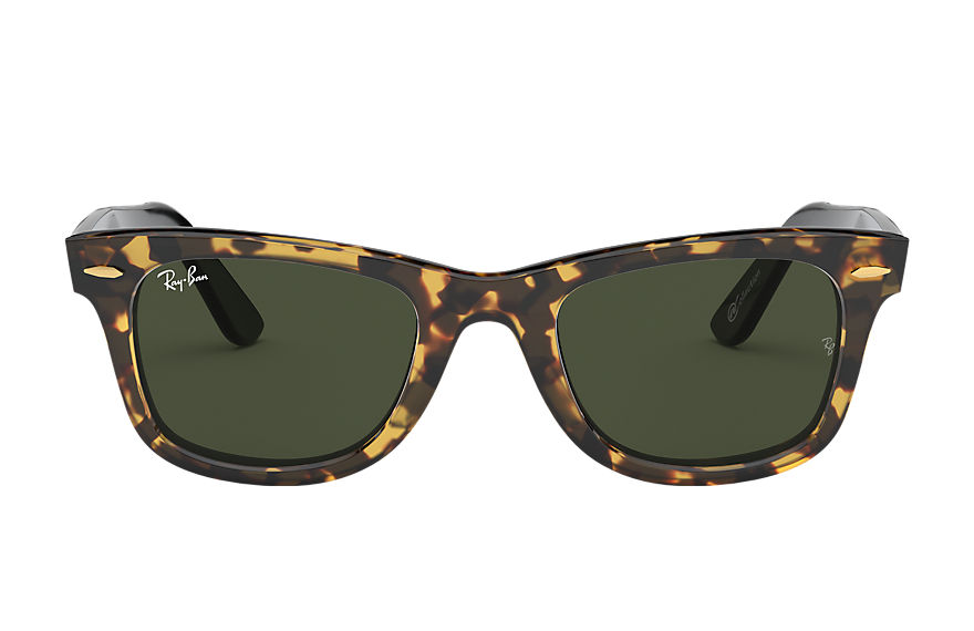 Ray-Ban ORIGINAL WAYFARER @Collection Tortoise with Green Classic G-15 lens
