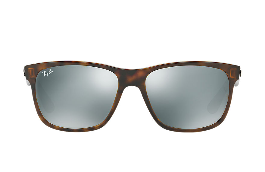 Ray-Ban RB4181 Collection Tortoise with Silver Mirror lens