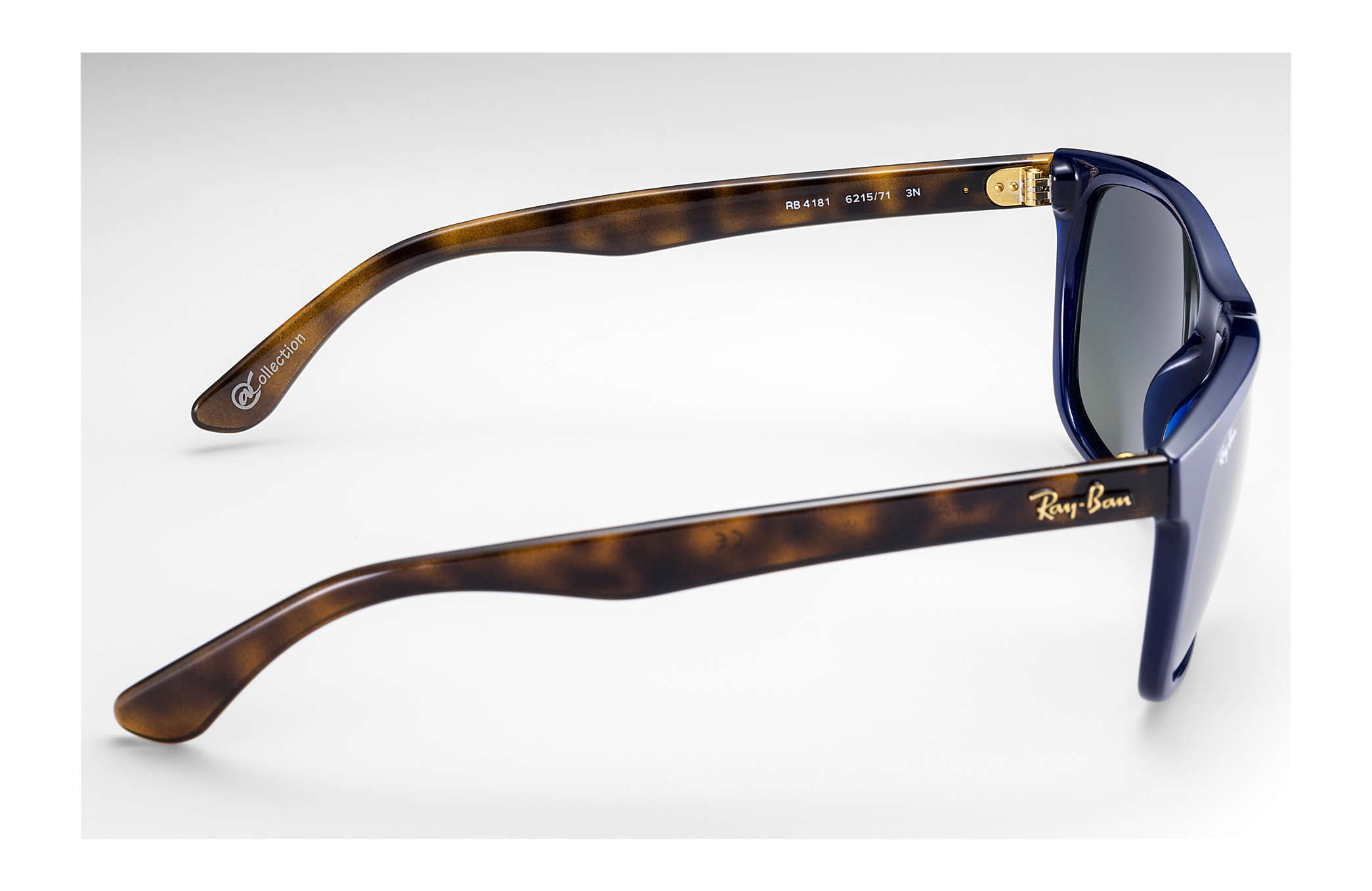 761a576d91 Ray-Ban Rb4181  collection RB4181 Tortoise - Nylon - Silver Lenses ...