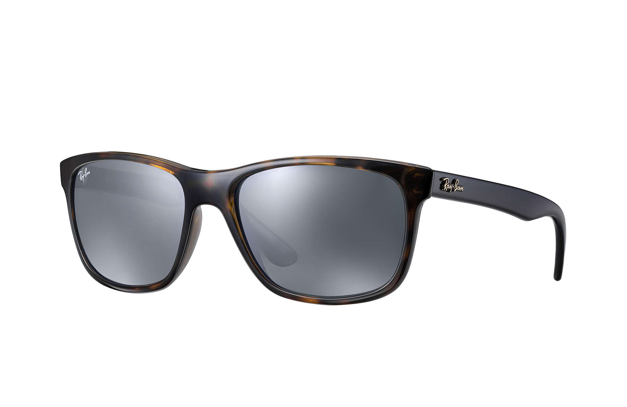 ddc6792d5a9d Ray-Ban Rb4181  collection RB4181 Blue - Nylon - Grey Lenses ...