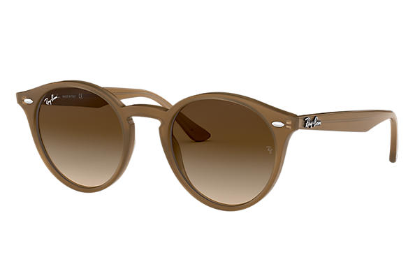 Ray-Ban Sunglasses RB2180 Light Brown with Brown Gradient lens