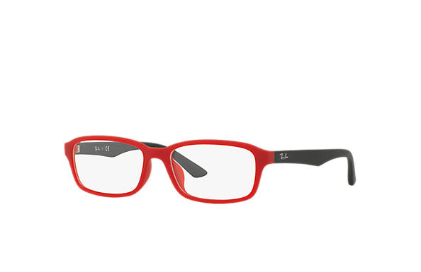 Ray-Ban 0RX7081D-RB7081D Red; Black OPTICAL