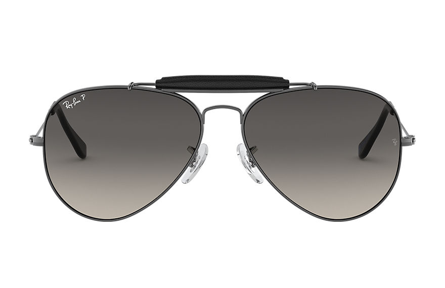 Ray-Ban  gafas de sol RB3422Q UNISEX 001 outdoorsman craft online exclusive gunmetal 8053672550399