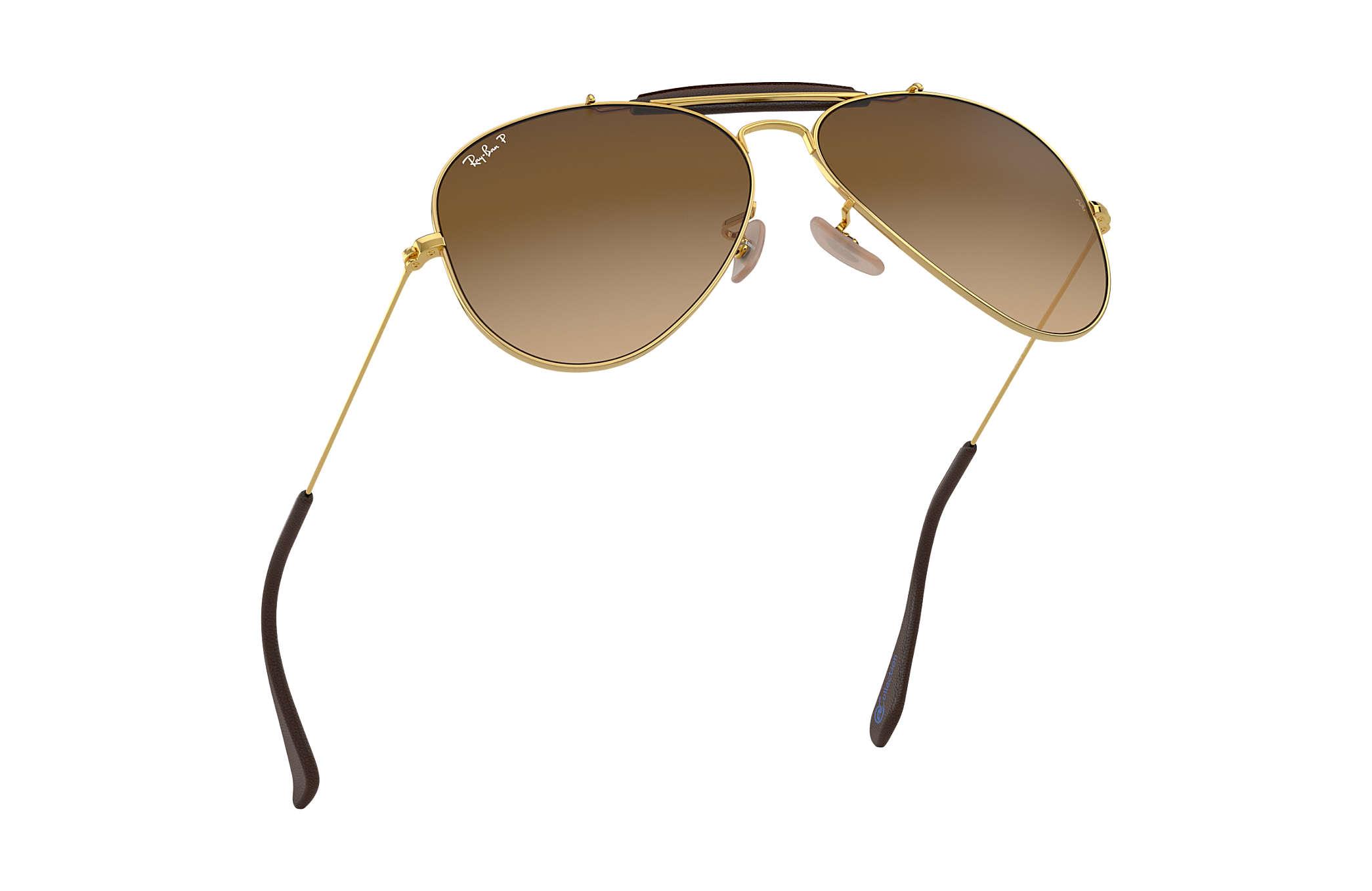 65b37dddd832c7 ... buy ray ban 0rb3422q outdoorsman craft collection gold sun 5cfed 99cb8