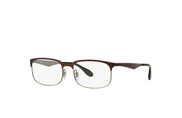 Ray-Ban 0RX6361-RB6361 Brown,Gunmetal OPTICAL