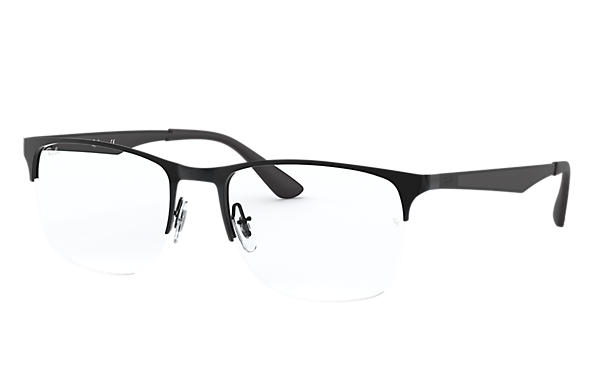 7ecd2ed1ab6 Ray-Ban prescription glasses RB6362 Black - Metal - 0RX6362250953 ...