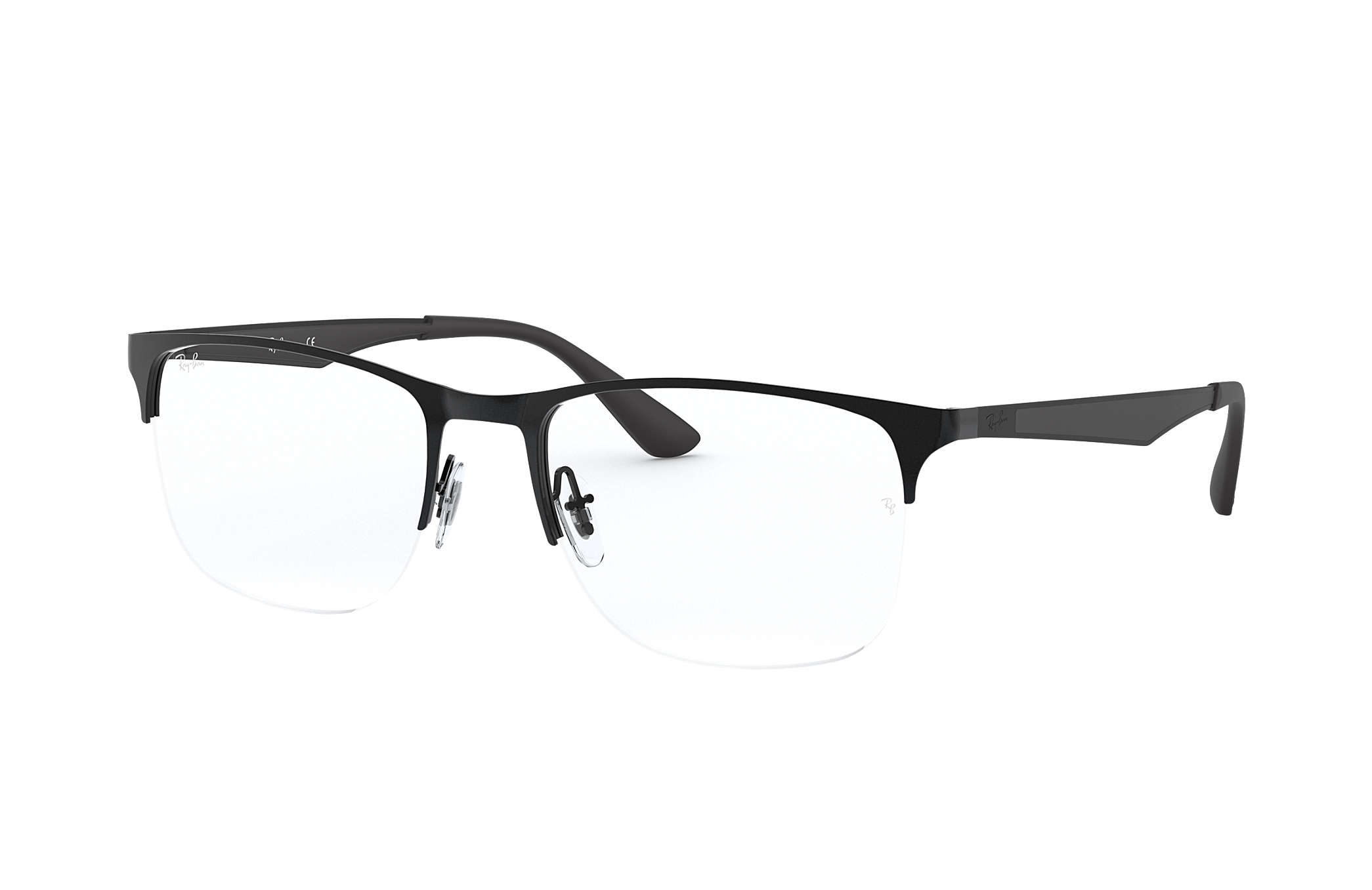 5dc67dee807 Ray-Ban prescription glasses RB6362 Black - Metal - 0RX6362250953 ...