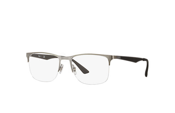 Ray-Ban 0RX6362-RB6362 Gunmetal; Gunmetal,Black OPTICAL