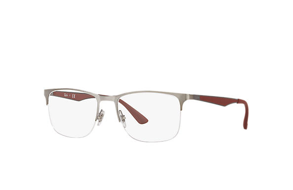 Ray-Ban 0RX6362-RB6362 Gunmetal; Gunmetal,Bordeaux OPTICAL