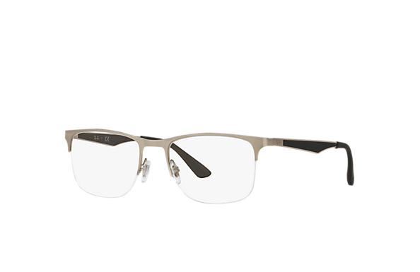 Ray-Ban 0RX6362-RB6362 Argent; Argent,Bleu OPTICAL