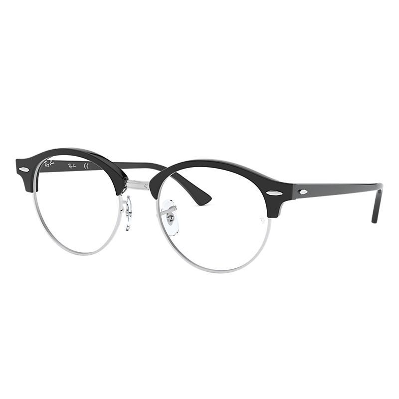 Image of Ray-Ban Black Eyeglasses - Rb4246v