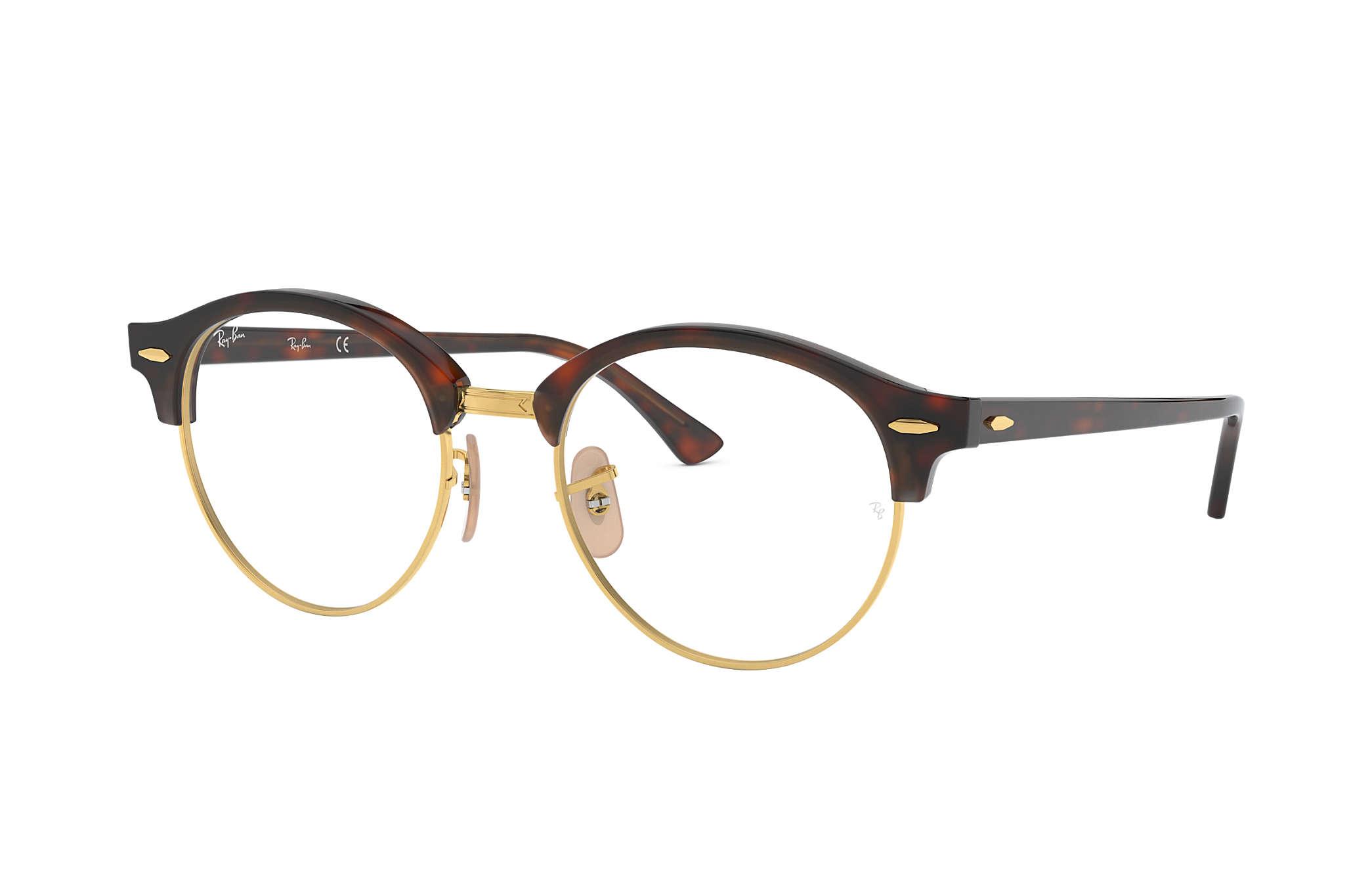 f96ffc260b Ray-Ban prescription glasses Clubround Optics RB4246V Tortoise ...