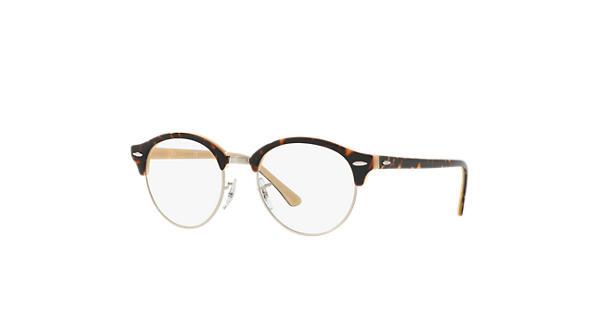 99679c84e8 Ray-Ban prescription glasses Clubround Optics RB4246V Tortoise - Acetate -  0RX4246V523949