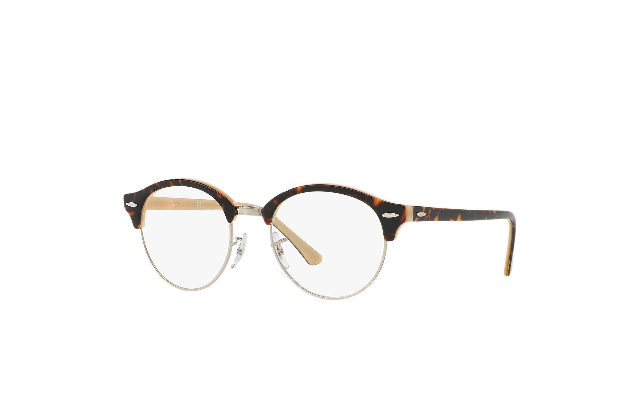 4773541ce28 Ray-Ban eyeglasses Clubround Optics RB4246V Tortoise - Acetate ...