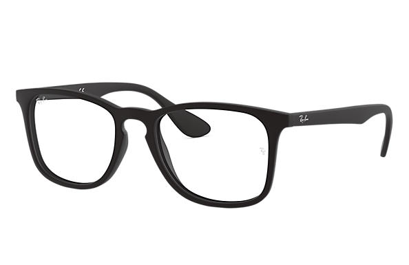 faaf60dc75e Ray-Ban prescription glasses RB7074 Black - Nylon - 0RX7074536450 ...
