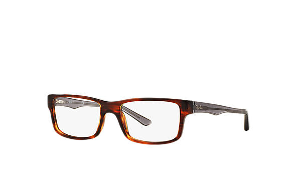 Ray-Ban 0RX5245-RB5245 Tortoise; Grijs OPTICAL