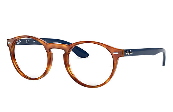 Ray-Ban 0RX5283-RB5283 Havana; Blau OPTICAL