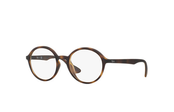 Ray-Ban 0RX7075F-RB7075F Tortoise OPTICAL