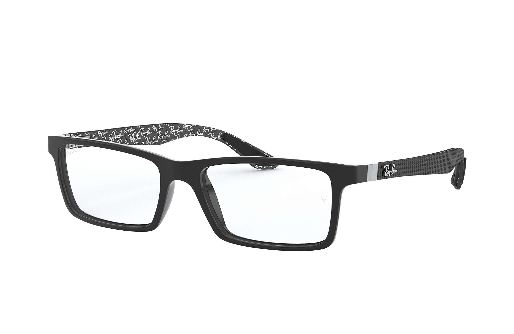 581dc00f92fa6 Ray-Ban prescription glasses RB8901 Black - Carbon Fibre ...