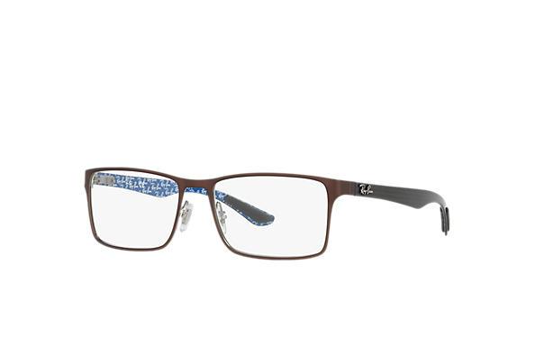 547ea7d68d Ray-Ban prescription glasses RB8415 Brown - Carbon Fibre ...